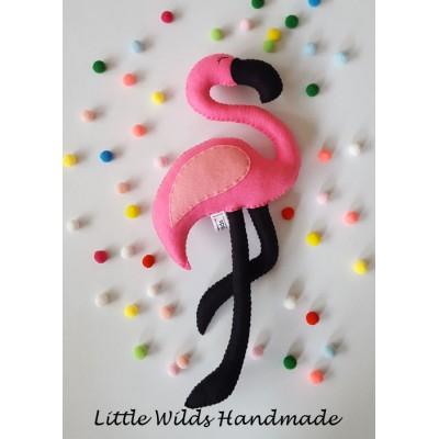 Flamingo plushie