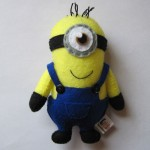 Minion party favor plushie
