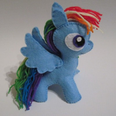 My little pony party favor plushie